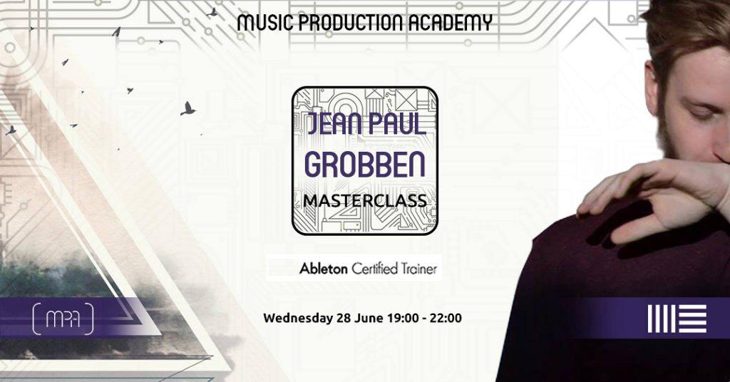Jean Paul Grobben Masterclass