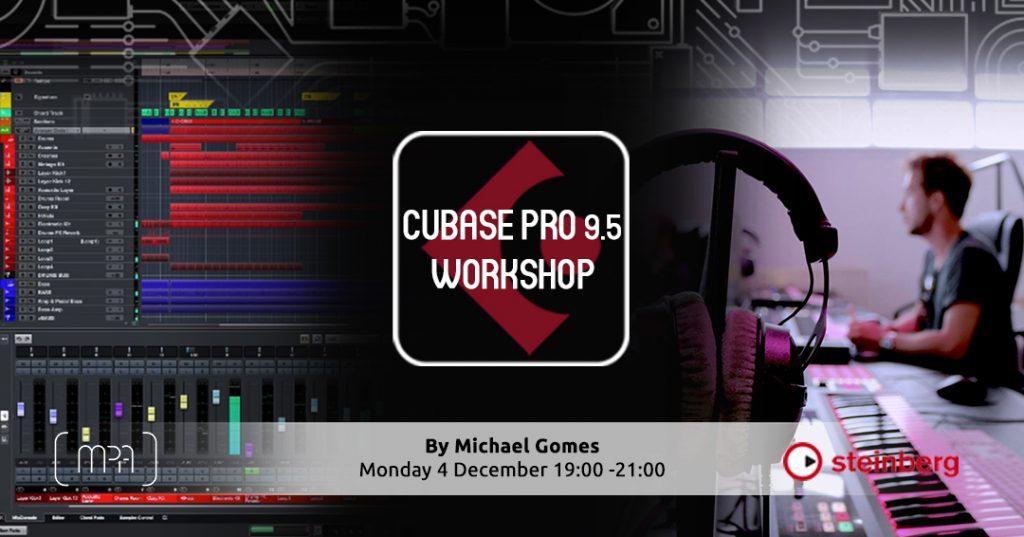 Cubase 9.5 Workshop