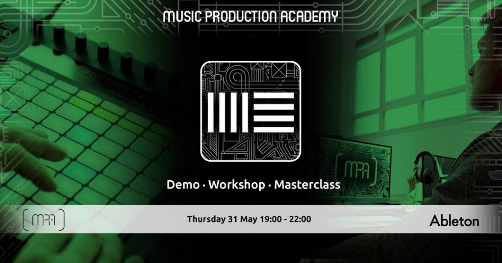ableton event at mpa
