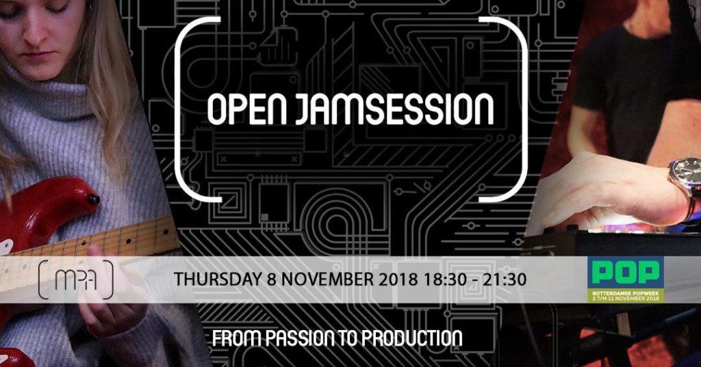 open jamsession rotterdamse popweek