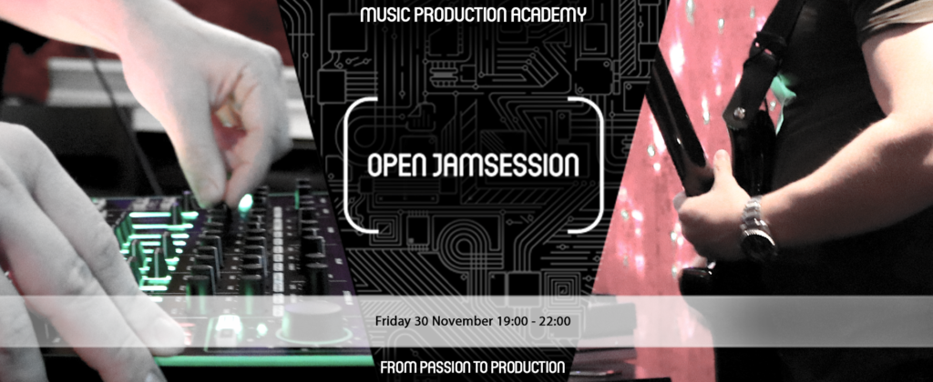 open jamsession friday 30 november