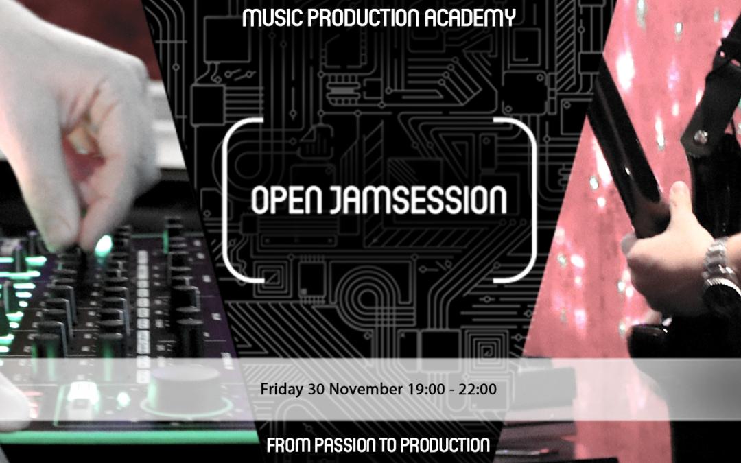 open jamsession friday 30 november