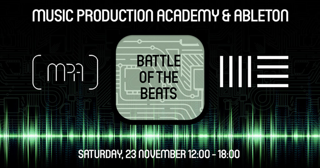 battle of the beats x ableton